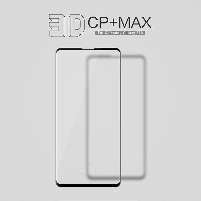 Für Galaxy S20 Glas NILLKIN 3D CP + MAX Gehärtetem Glas Screen Protector Für Samsung Galaxy S20 +/Hinweis 10 +/S10/S8/S9 plus/Hinweis 9/8