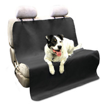 New Hot Sale Car Back Water-proof Seat Cover Pet for Cat Dog Protector Mat Rear Safety Travel Black