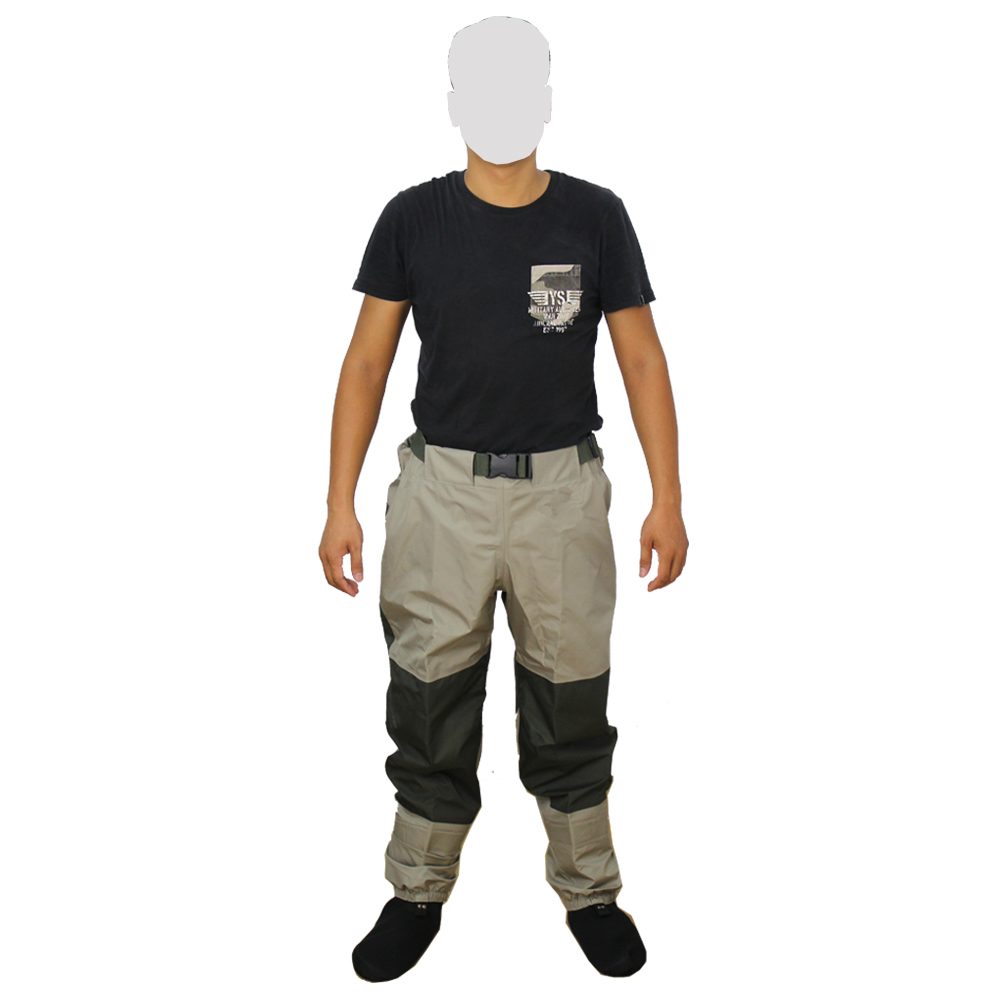 Fly fishing hunting wading pants men breathable waders for Fly fishing pants