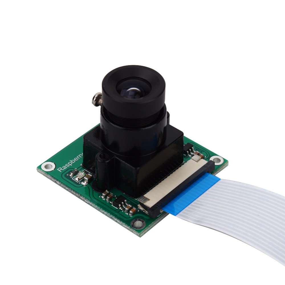 Raspberry Pi Caméra 5MP OV5647 DIY Caméra Module Plus Grande Taille Moniteur Caméra pour Raspberry Pi 3 2 DIY Sonnette Caméra