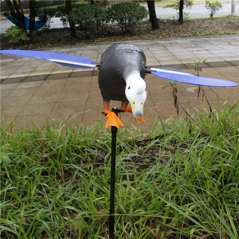 ФОТО Spain Wholesale Outdoor Hunting Plastic Duck Decoy Remote Control 6V Mallard Hunting Decoys With Spinning Wings From Xilei