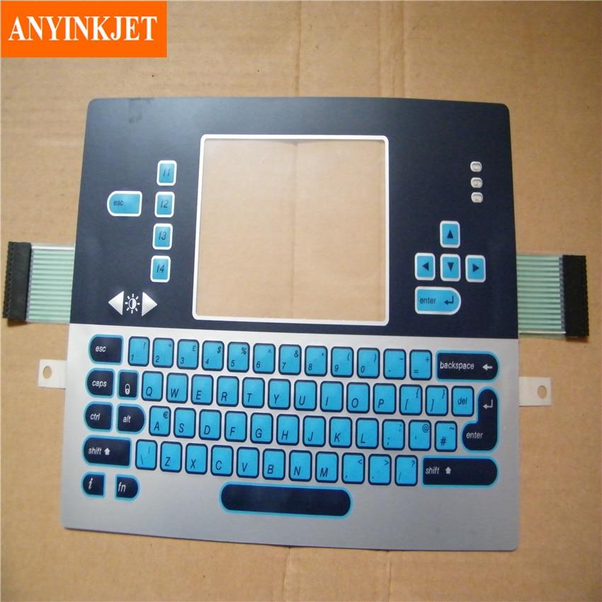 keyboard for Videojet 1210 1220 1510 1520 1610 etc printer