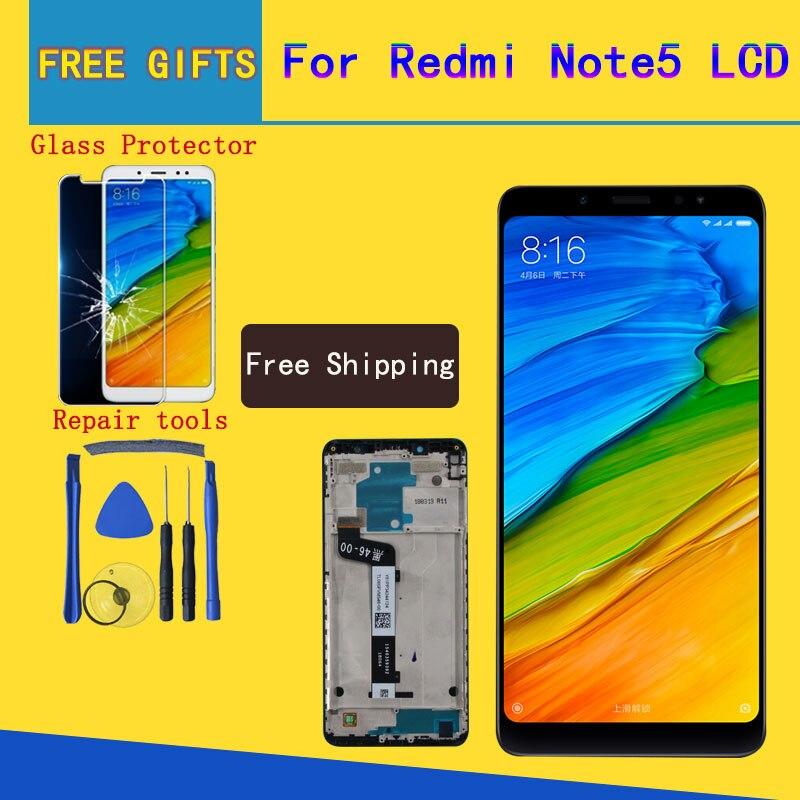 Per Xiaomi Redmi Nota 5 Pro Display LCD Touch Screen Test di Buona Digitizer Assembly di Ricambio Per Xiaomi Redmi Note5 5.99 pollice
