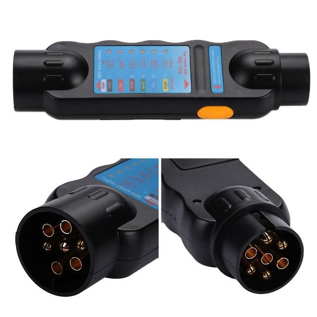 Vehemo 12 V 7Pin Steckdose Verdrahtung Circuit Tester Für Auto ...