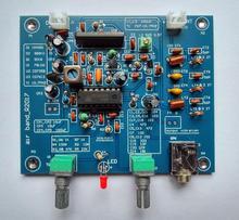 Receptor de faixa de aviação dykb 118 136mhz alta sensibilidade rádio de aviação am kit diy chamadas entre aeronaves e torre vhf antena
