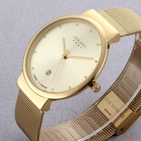 Super Slim Quartz Casual Wristwatch Business JAPAN Julius Brand Stainless Steel Analog Quartz Watch Men S