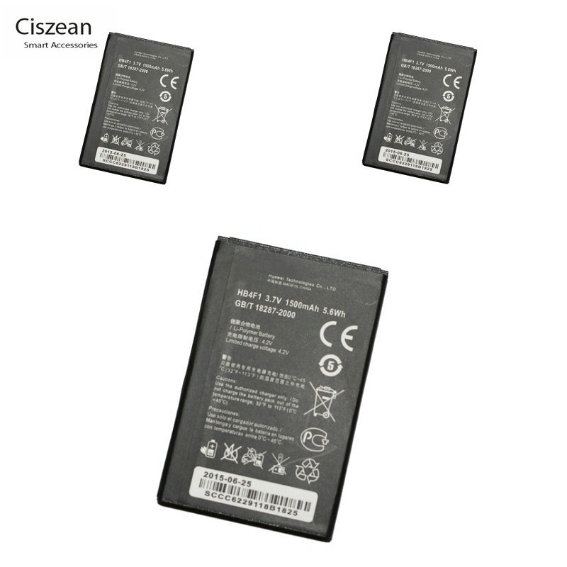 Ciszean HB4F1 Battery Huawei U8800 E585 3x1500mah Ce For Ascend E5331/Ec5321/E585/..