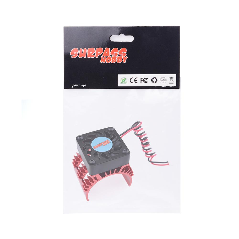 Image 5 - SURPASSHOBBY 7014 Motor Heat Sink With 21000RPM Cooling Fan for 1/10 HSP RC Car Modified 540 550 3650 3660 3670 3674 Series-in Parts & Accessories from Toys & Hobbies