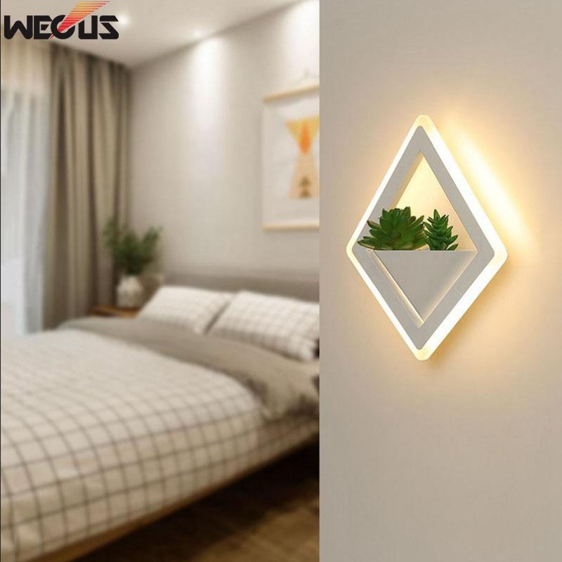 wecus nova arte planta luz de parede 03