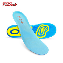 original PCSsole 2017 free size Gel TPE silicone insoles for man and women  Anti – Slip Deodorant shoes pad cushion T1002