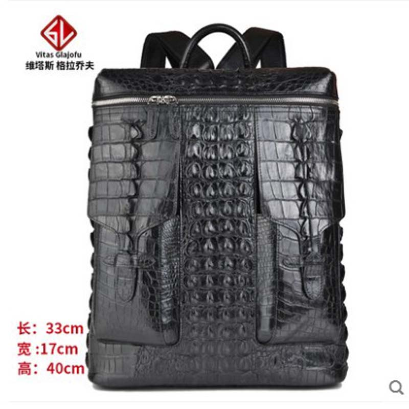 weitasui Crocodile leather backpack travel bag mens and womens backpacks leisure men women luggage boxweitasui Crocodile leather backpack travel bag mens and womens backpacks leisure men women luggage box