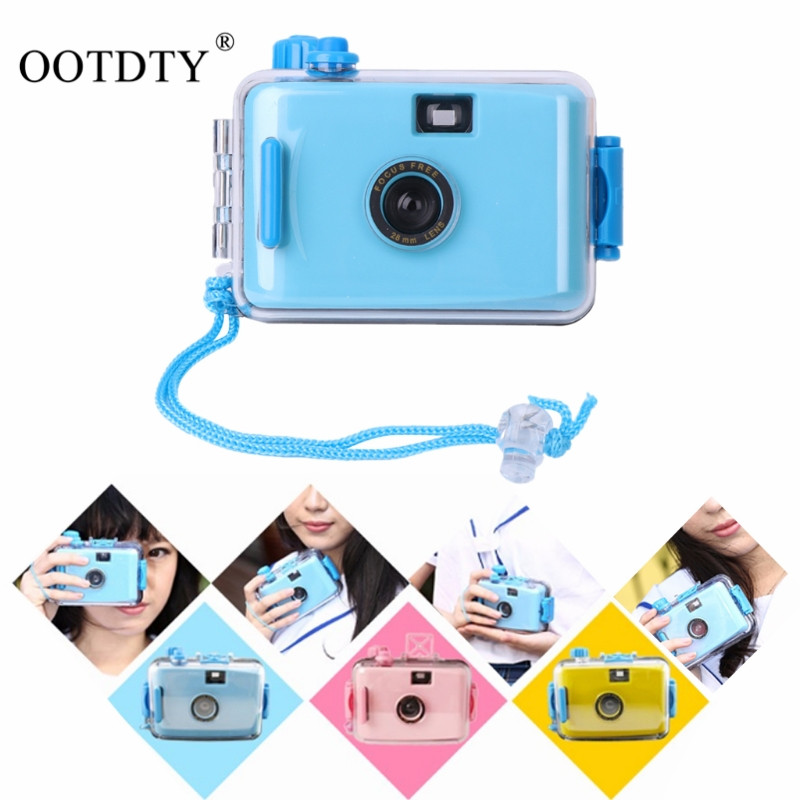 LOMO Underwater Waterproof Mini 5 Colors lomo camera Hello Kitty Flag auto focus camer 35mm Film Camera ...