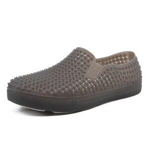 Image 2 - رجالي قباقيب الصنادل منصة النعال الذكور أحذية Sandalias الصيف أحذية الشاطئ صندل صندل hombre Sandali جديد 2020