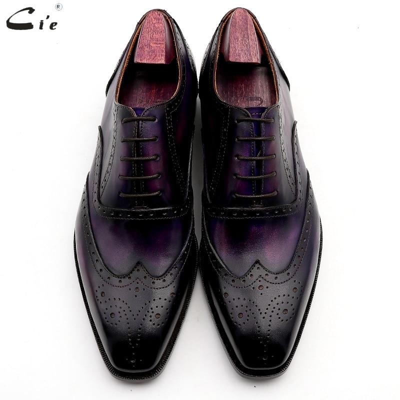 Cuero Outsole Cie A Hombres Zapatos Vestir Trajes Brown De Hecha Patina N° Formal 6 Mano Genuino Oficina Del znxzpwr