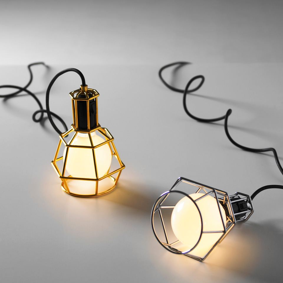 4PCS Vintage Style Industrial Hanging Light Mini Pendant Wire Cage ...