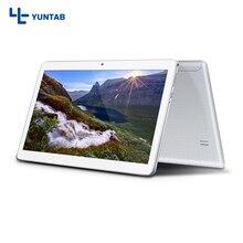 Yuntab K107 Tablet Android 5.1 de la pantalla táctil 1280*800 Quad-Core con La Cámara Dual y Doble Tarjeta Sim ranuras 4500 mAh batería (plata)