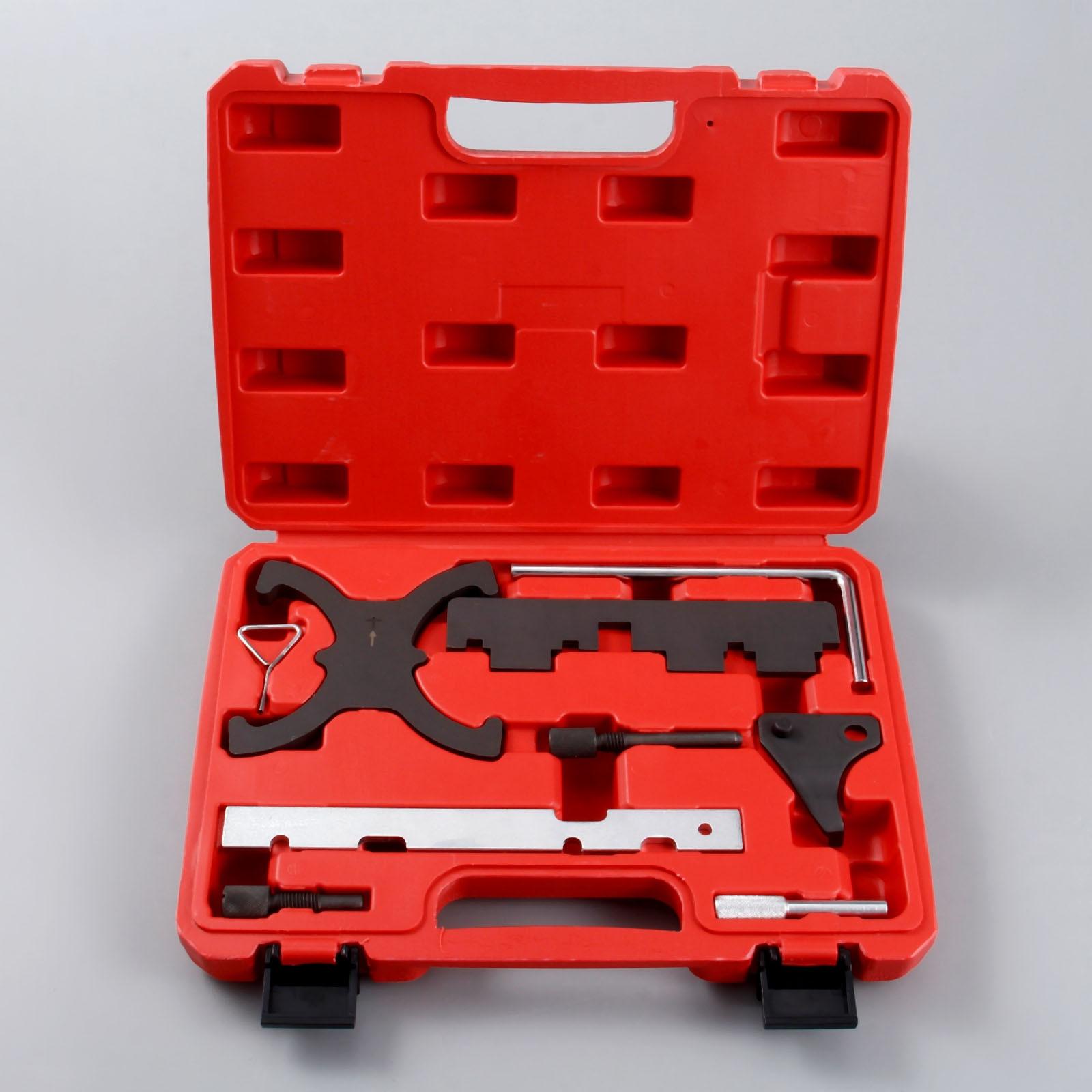 Yetaha Kit d'outils de blocage de calage d'arbre à cames moteur pour Ford Focus 1.6 pour Mazada 1.6 Eco Boost pour Volvo