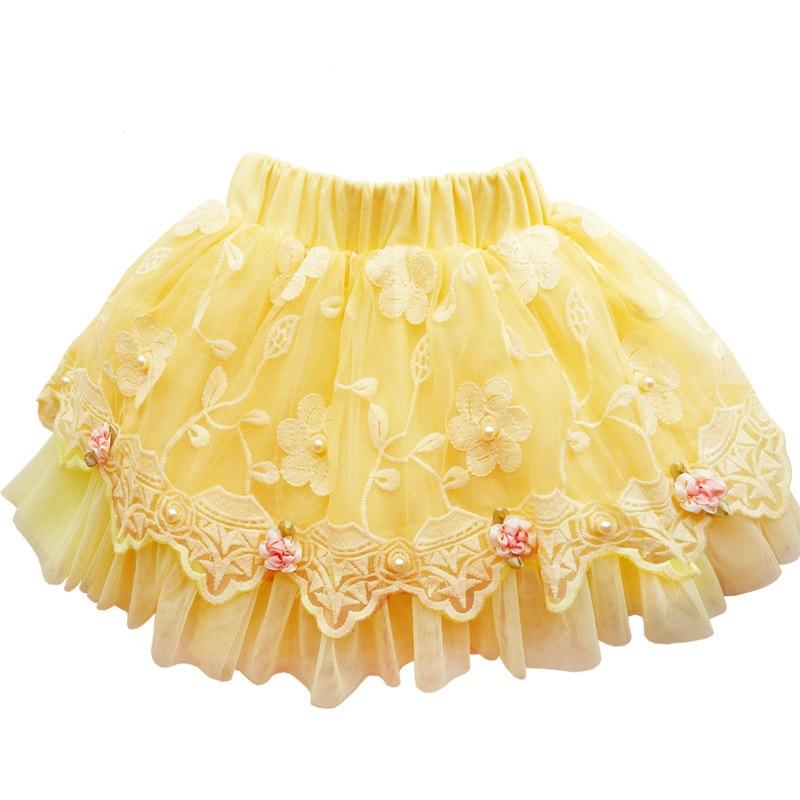 2017 новая юбка для девочек 4-11 лет 5 - Детская одежда