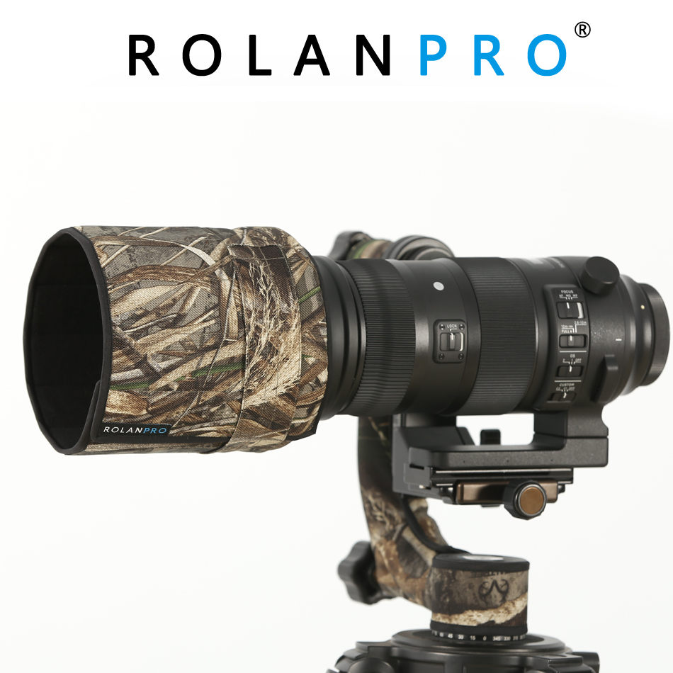 ROLANPRO Camouflage Lens Hood Telephoto Lens Folding Hood for Sigma150 600mm F5 6 3 DG OS