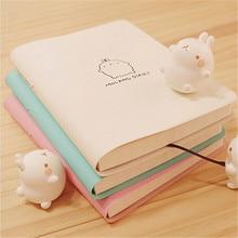 Милый кавайный блокнот, милый мультяшный календарь-, прекрасный дневник, ежедневник, блокнот для детей, Подарочные канцелярские принадлежности