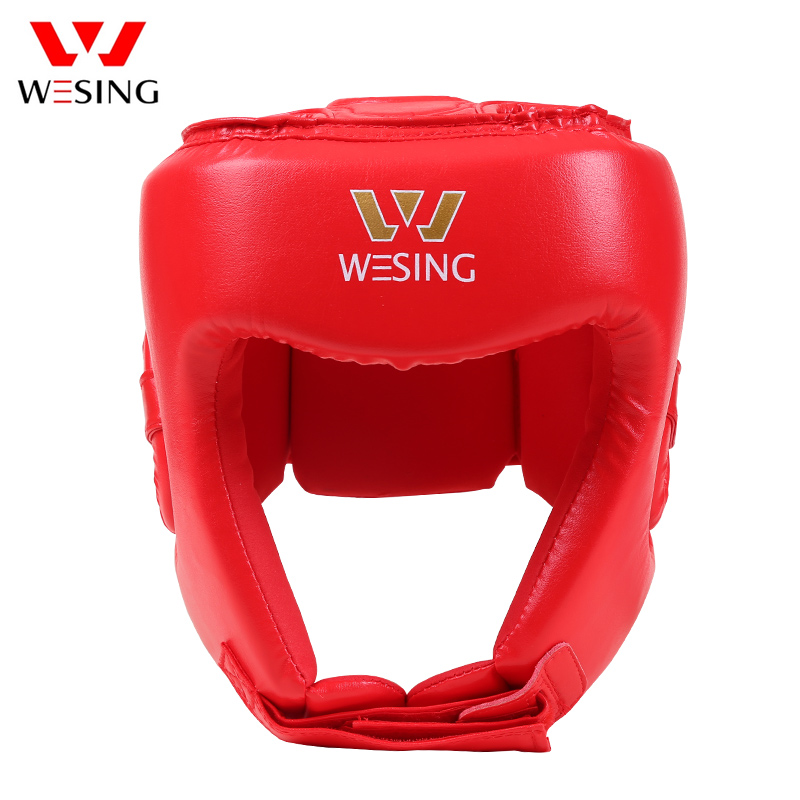Head Guard Helmet Protector Kick Boxing Headgear Martial Art Sparring MMA Traini