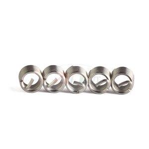 Image 5 - 70 adet gümüş M2 M12 paslanmaz çelik iplik kol diş tamir takma takımı seti paslanmaz çelik donanım tamir araçları