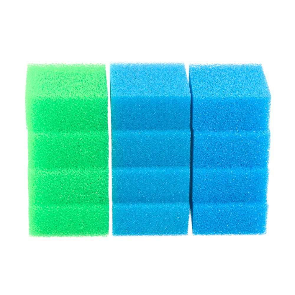 50 Almohadillas de esponja de filtro de espuma de polietileno Compacto reemplazo Juwel Pecera Hilo de medios