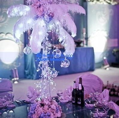 Wedding decoration crystal ornaments diy string wedding scene decorative string drop shape acrylic flat