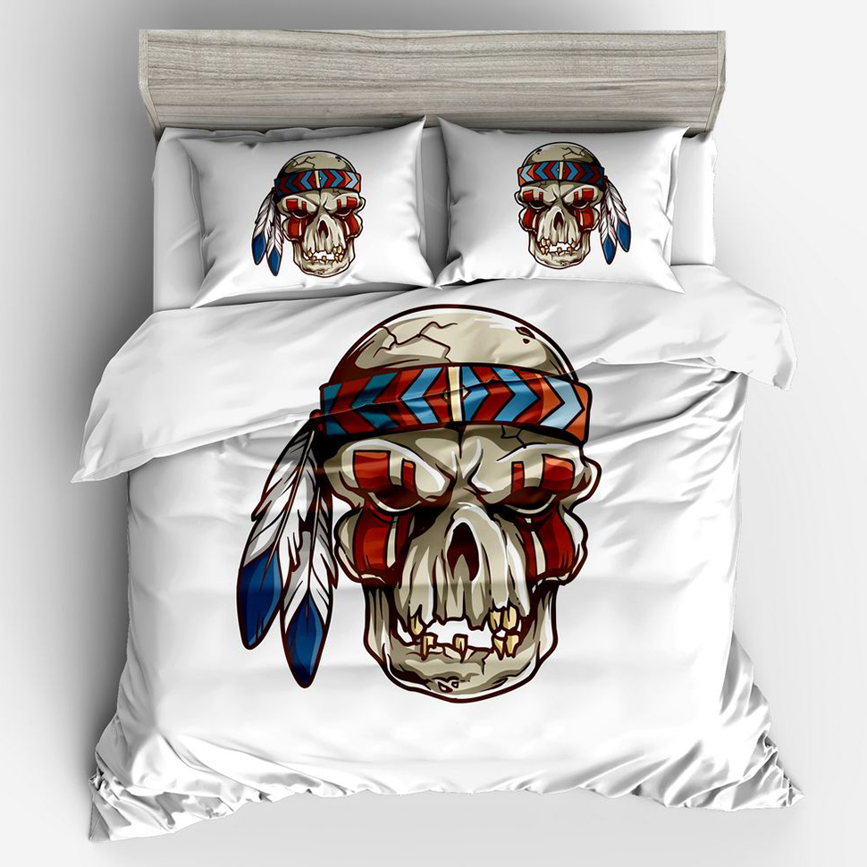 89.6% People Like To Buy Pirate Captain Skull 3d Duvet Cover Queen Bedding Set Twin Full Queen King Size Quilt Cover Pillowcase