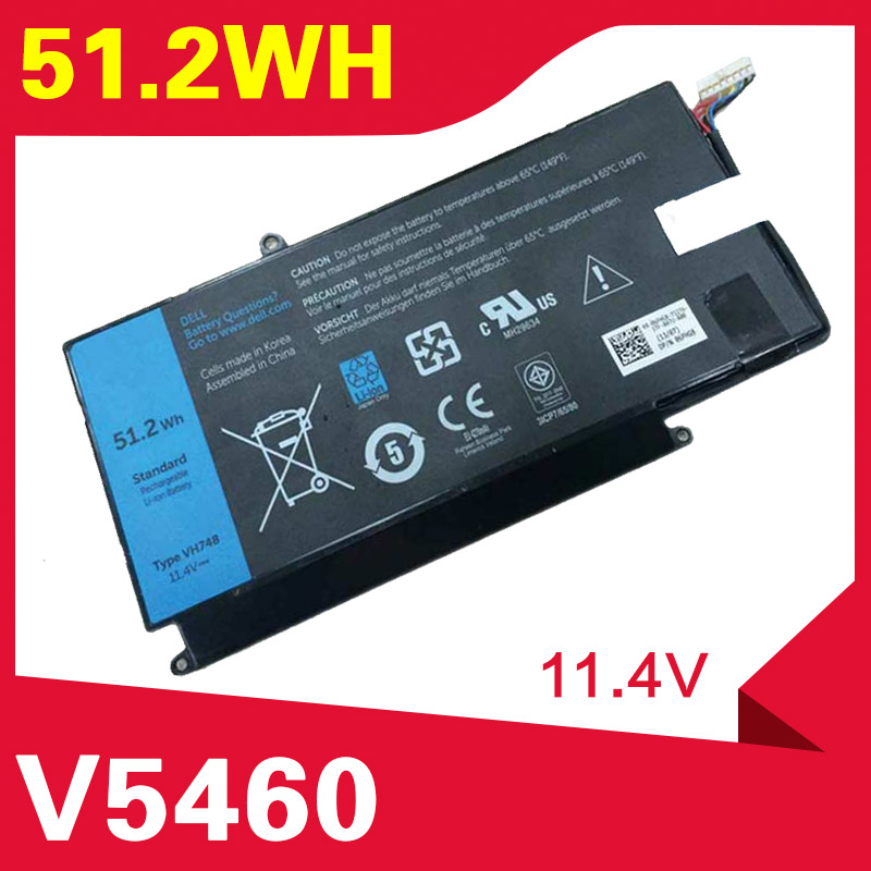 ApexWay 51.2Wh  laptop battery For  Dell Inspiron 14-5439 VH748  VOSTRO V5460 V5480 V5560 V5470 VH748ApexWay 51.2Wh  laptop battery For  Dell Inspiron 14-5439 VH748  VOSTRO V5460 V5480 V5560 V5470 VH748