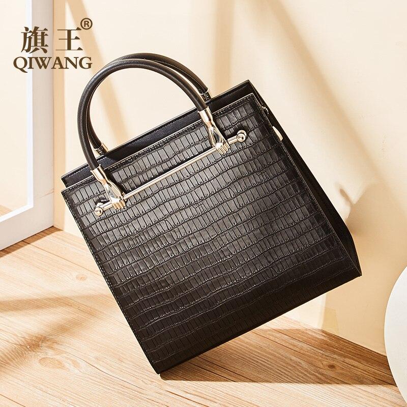 2019 mode sacs pour femmes luxe sacs à main femmes sacs Designer en cuir véritable dame sac à bandoulière femmes sac à main Crocodile bolsa
