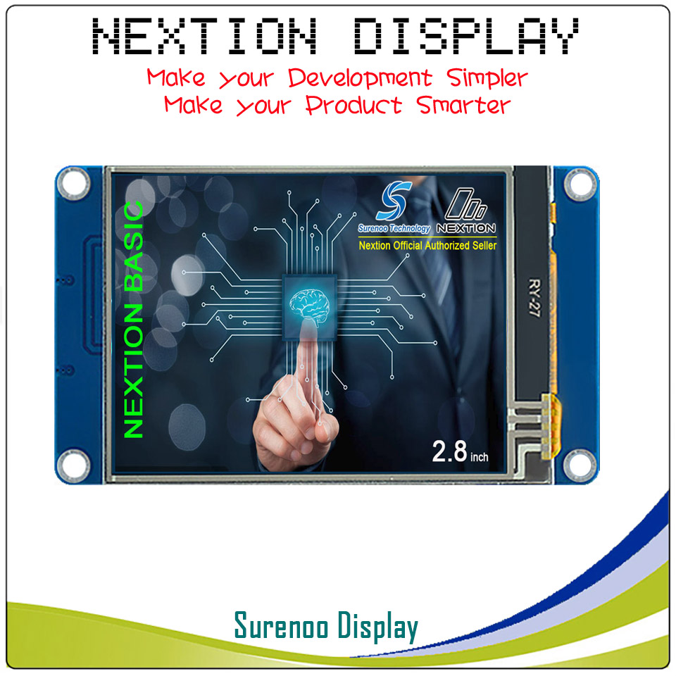 2.8 English Version Nextion Basic HMI Intelligent Smart USART UART Serial Touch TFT LCD Module Display Panel for Arduino2.8 English Version Nextion Basic HMI Intelligent Smart USART UART Serial Touch TFT LCD Module Display Panel for Arduino