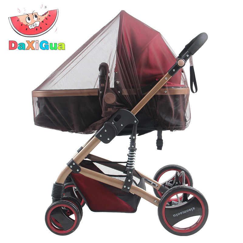 รถเข็นเด็กทารก Pram ยุงกลางแจ้งเด็กทารกรถเข็นเด็กยุงแมลงสุทธิเด็กวัยหัดเดินป้องกันตาข่าย Buggy Cover