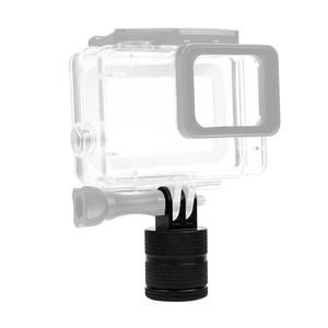 Image 5 - F15580 Aluminium 360 Degree Rotation 12 Direction Positions Camera CNC Connector Tripod Mount for GoPro 9/8 /MAX for Gopro All