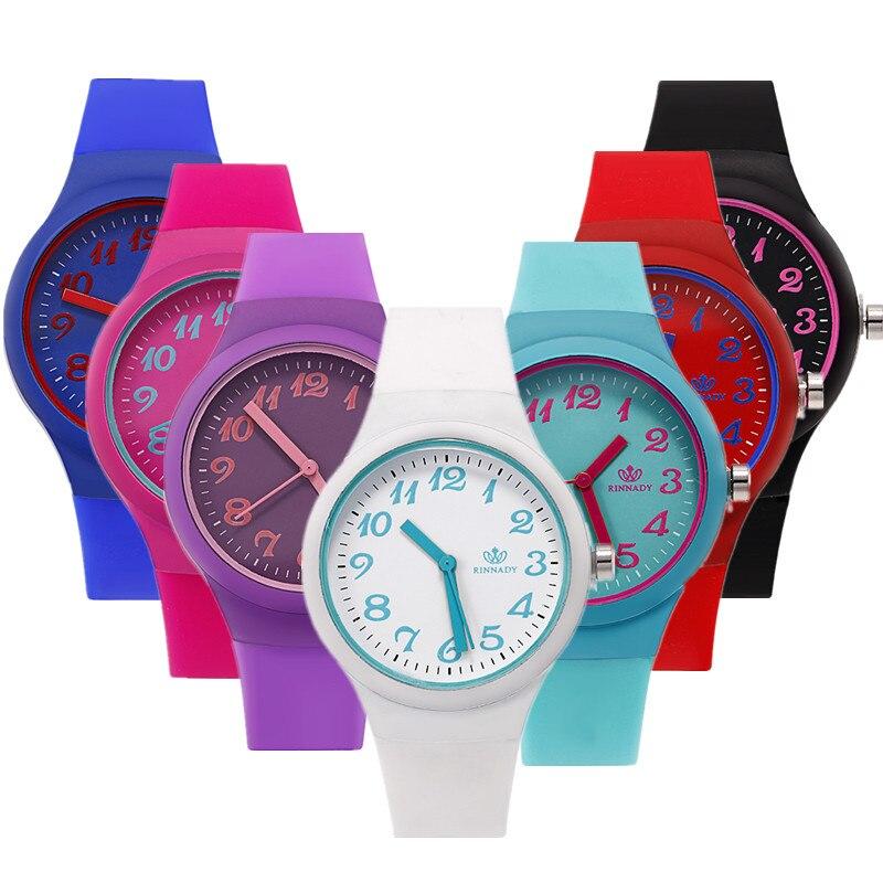 Zegarek Damski 2018 Fashion Casual Silica Gel Strap Watches Women Watch High Quality Silicone Watch Women Clock Saat Dropship