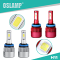 Oslamp Auto Single Beam H11 Led Car Headlight Kits SUV Led Fog Lamps Bulbs COB Chips/SMD Chips All-in-one with Cooling Fan