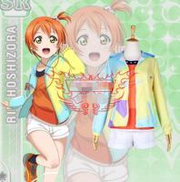 Hot Anime LoveLive! cosplay Hoshizora Rin Halloween party Daily No awakening baseball cosplay costume