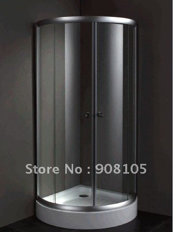2016 hot sales promotion simple shower door 6mm toughened glass shower room antique shower enclosure with acrylic base