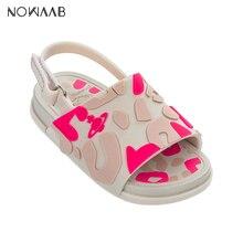 Mini Melissa Beach Slide Sandal 2019 New Summer Boy Girl Jelly Shoes