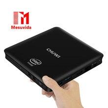 CHUWI Mesuvida HiBox Smart TV Box Mini PC Quad Core Intel x5-Z8350 64bit Android 5.1 + Okno 10 Dual OS 2.4G/5G WiFi BT 4.0