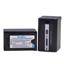 2 шт. 5200 мАч VW-VBD58 VBD29 VBD58 VBD78 AG-VBR59 Батарея для Panasonic AJ-HPX260MC, HPX265MC, PX270, PX285MC, PX298, AG-FC100, HC-X1000
