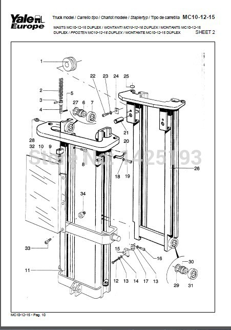 Yale Wiring Diagrams , Service Manuals- Class 2 2014year yale service manuals class 4 [2014] wiring diagrams and service manuals