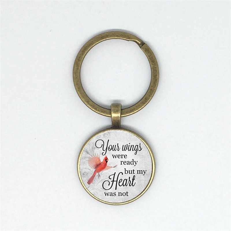 ของคุณปีกพร้อมพวงกุญแจแต่หัวใจไม่. หน่วยความจำ, I lost my คนที่คุณรักและการฉลองความหมายพวงกุญแจ