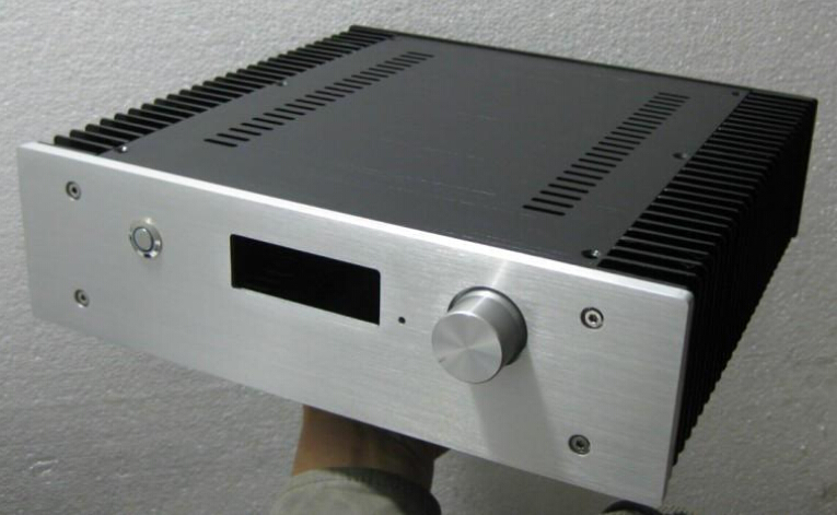 Can Installation F6-0 remote pre-amplifier full aluminum chassis 320X90X311mm AMPLIFIER BOX/AMPLIFIER CASE 3206 amplifier aluminum rounded chassis preamplifier dac amp case decoder tube amp enclosure box 320 76 250mm