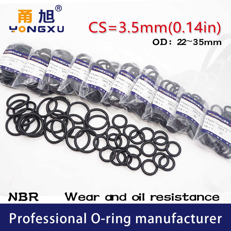 005677b1f162 Detail Feedback Questions about 20PC lot Black NBR Sealing O Ring 3.5mm  OD21 22 23 24 25 26 27 28 29 30 31 32 33 34 35mm O Ring Seal Rubber Gasket  Oil Rings ...