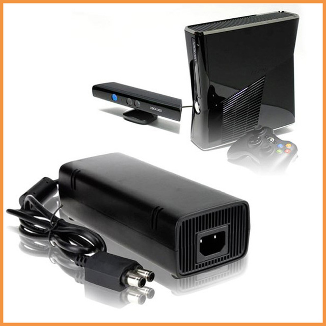135W DC 12V Power Supply Adapter Charger Cable For Microsoft Xbox 360 Slim Only A0571