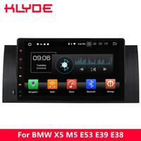 KLYDE 9 IPS 4G WIFI Octa Core PX5 Android 8.0 4GB RAM 32GB ROM Car DVD Multimedia Player Radio Stereo For BMW M5 E39 1995 2003