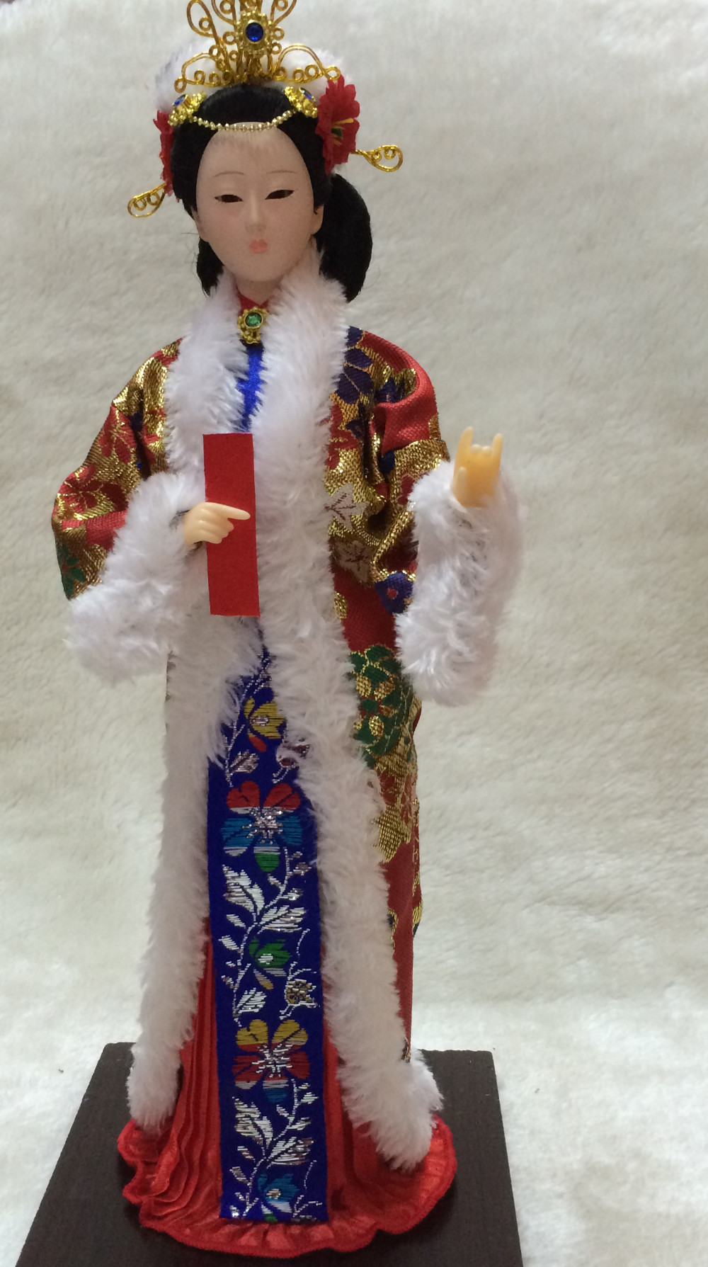 Oriental Broider Doll China Dynasty Princess Dolls With Imperial