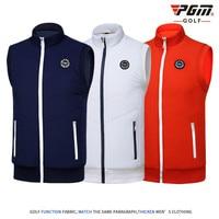 2018 PGM men's Golf t shirt golf vest cashmere warm sport vest for men Close skin soft match jersey size M XXL