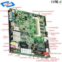 2018 New Board Mini Laptop Computer Motherboard Intel Atom N2800 Mini PC Multi Port Industrial Mainboard